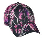 350-M MUDDY GIRL CAMO structured, Velcro closure