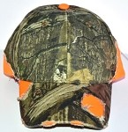 BSH-600 Structured, Velcro Closure Camo/Blaze DISCONTINUED (ONLY 3 LEFT)